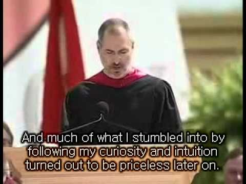 Steve jobs Stanford commencement speech 2005 part1 + Eng sub -NN9YRM-NPi4