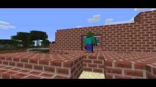 getlinkyoutube.com-Minecraft Ha Ha - สร้างบ้าน - ตอนที่ 4