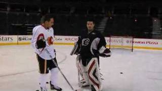 getlinkyoutube.com-How to perfect the wrist shot with NHL star Mike Cammalleri Wonder How To