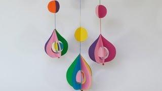 getlinkyoutube.com-Móvil decorativo - Manualidades para todos