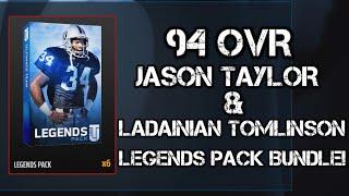 getlinkyoutube.com-94 OVR JASON TAYLOR & LT! LEGENDS PACK BUNDLE!   Madden 16 Ultimate Team Pack Opening   MUT 16