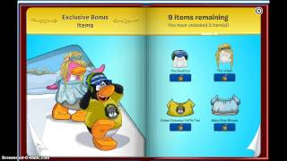 getlinkyoutube.com-Club penguin- UNLOCKING 13 items ( pink cheer leader outfit)