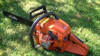 getlinkyoutube.com-How To Replace The Clutch Spring On A Husqvarna 51 Chainsaw
