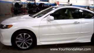 "getlinkyoutube.com-2013 Honda Accord Coupe HFP Body Kit 19"" wheels"