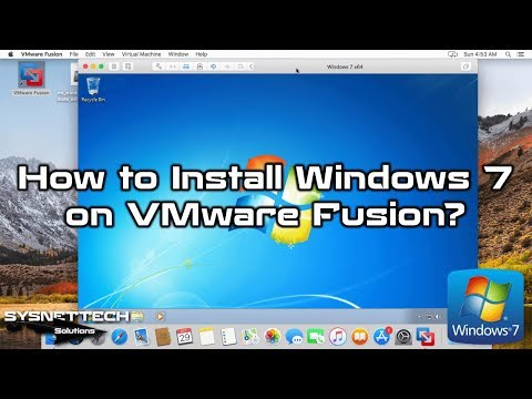 How to Install Windows 7 on macOS