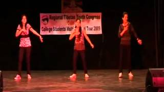 getlinkyoutube.com-Hey Ya - Kidnap by Tibetan College Girls