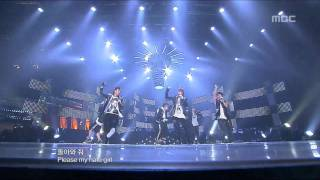 getlinkyoutube.com-BEAST - Bad Girl, 비스트 - 배드 걸, Music Core 20091107