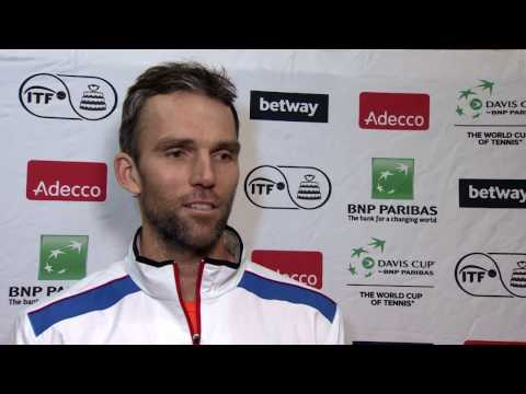 Interview: Ivo Karlovic (CRO)