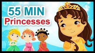 Les petites princesses - 55 min de comptines et chansons