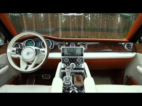 Video: Bentley EXP 9 F Concept SUV