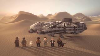 getlinkyoutube.com-Millennium Falcon - LEGO Star Wars - Product Animation 75105
