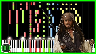 getlinkyoutube.com-IMPOSSIBLE REMIX - Pirates of the Caribbean Medley