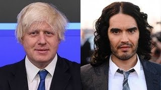 getlinkyoutube.com-Russell Brand and Boris Johnson appear on Question Time June 2013