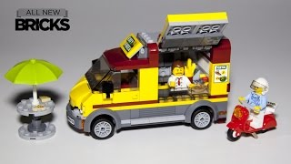 getlinkyoutube.com-Lego City 60150 Pizza Van Lego Speed Build