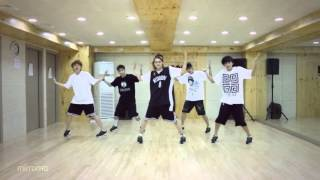 getlinkyoutube.com-B1A4 'What's Happening?' mirrored Dance Practice.