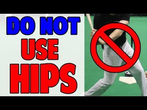 Don't Use Your Hips | Baseball Hitting Drill (Pro Speed Baseball)