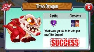 getlinkyoutube.com-Dragon City - Titan Dragon + Fighting Boss [Completed]