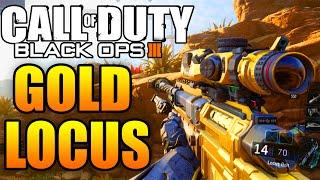 """getlinkyoutube.com-Call of Duty: Black Ops 3 Multiplayer Live - """"Golden LOCUS Sniper Gameplay"""" - (QuickScoping)"""