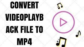 CONVERT VIDEOPLAYBACK FILE TO MP4 🎬