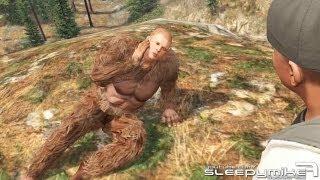 getlinkyoutube.com-GTA: V - Sasquatch/Bigfoot Mission Easter Egg Solved!