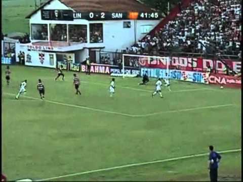 Linense 1 x 4 Santos - Gols - Campeonato Paulista 2011
