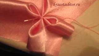 "getlinkyoutube.com-Видео Мастер-Класс декоративной подушки""цветочек""."