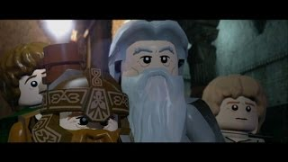 getlinkyoutube.com-LEGO Lord of the Rings Walkthrough Part 5 - The Mines of Moria