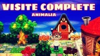 getlinkyoutube.com-Animal Crossing New Leaf : Visite Complète de la Ville !!
