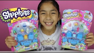 getlinkyoutube.com-2 Shopkins 12 Pack with Frozen and Special Edition|Shopkins Toys |Blind Bags
