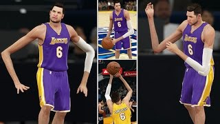 The Birth Of Daddy Longlegs! Playing Slam Dunk & Three-Point Contest! | NBA 2K15