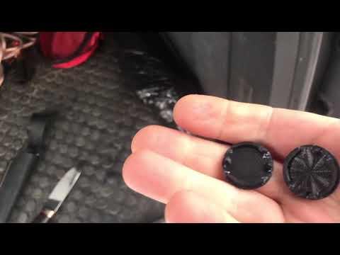 VW Touareg заглушки 7L6945285 в задний фонарь напечатанные на 3D Printer. Своими руками.