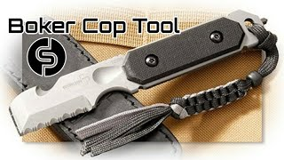 getlinkyoutube.com-Boker Cop Tool Testing and Review