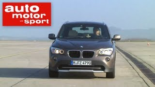 getlinkyoutube.com-Einzeltest BMW X1 xDrive 20d