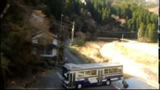 getlinkyoutube.com-壮絶なバス折り返し場~代転回場を上から眺めてみると・・・