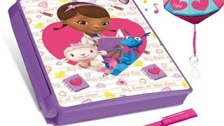getlinkyoutube.com-Doc Mcstuffins Toys Check-up Electronic Kids Secret Diary-Book of Boo Boos