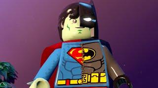 getlinkyoutube.com-LEGO BATMAN 3 - Composite Superman SUPERBAT! FREE ROAM GAMEPLAY