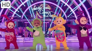 getlinkyoutube.com-Teletubbies Do the Strictly on BBC Strictly Come Dancing!