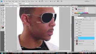 Making Simple Vector Potrait Using Adobe Photoshop CS4 view on youtube.com tube online.