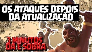 ATAQUES CV9 GUERRA DEPOIS DA ATUALIZAÇÃO GOHOWI, GOVAHO - 3 MINUTOS DÁ E SOBRA
