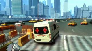 gta 4 ambulancia cruz roja mexicana sprinter