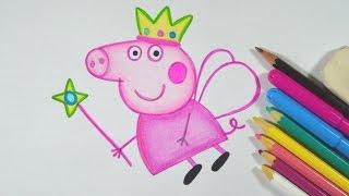 getlinkyoutube.com-Como desenhar PEPPA PIG passo a passo