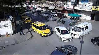 Erzincan'daki kazalar MOBESE'ye yansıdı
