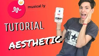COMO HACER VIDEOS AESTHETICS¡¡¡ TUTORIAL¡ MUSICALLY ¡ 2