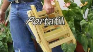 getlinkyoutube.com-silla portatil (folding chair) silla plegable