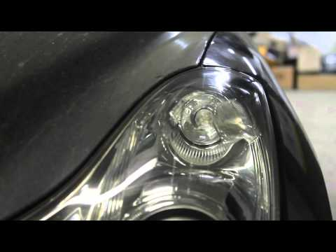 INFINITI EX37 High Performance Lights ,замена отражателей