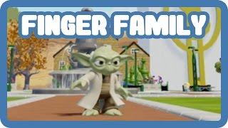 getlinkyoutube.com-Star Wars' Master Yoda Explores the ToonTown - Finger Family Daddy Finger Nursery Rhymes
