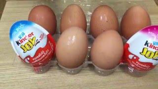 getlinkyoutube.com-สุดฮา! Kinder Joy เทียบไข่ไก่