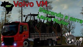 getlinkyoutube.com-Euro Truck Simulator 2 - Volvo VM Trucado + Diretão - Logitech G27
