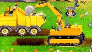 getlinkyoutube.com-เกมส์ รถตักดิน ตั้มดิน เกรดดิน ทำถนน ขุดอุโมงรถไฟ รถยก - วีดีโอสำหรับเด็ก - Tiny Builders
