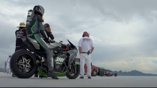 getlinkyoutube.com-Kawasaki Team 38 / Bonneville Speed Week 2016
